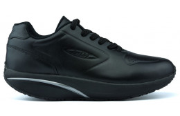 MBT 1997 LEATHER WINTER MAN SHOES BLACK_NAPPA