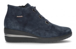 MEPHISTO MOBILS PERYNE ANKLE BOOTS NAVY