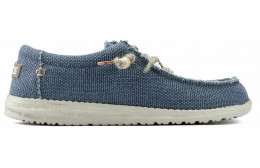 SHOES DUDE WALLY BRAIDED M NAVY