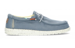 SHOES DUDE WALLY WASHED 1115 BLUE_STONE