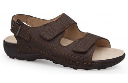 CALZAMEDI BECHAMP SANDALS MARRON