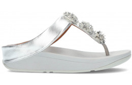 FITFLOP GALAXY TOE-THONGS SANDALS SILVER