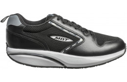 MBT 1997 LEATHER SMU MEN'S SHOES BLACK