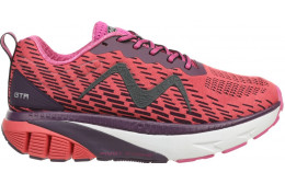 WOMEN'S MBT GTR 1500 LACE UP SHOES RED