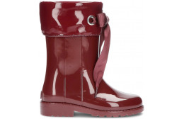 CAMPERA PATENT LEATHER WATER BOOTS W10114 BURDEOS
