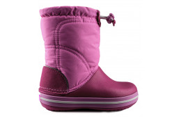 CROCBAND LODGEPOINT BOOT KIDS ROSA