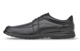 Comfortable Saguys work shoes for men NEGRO