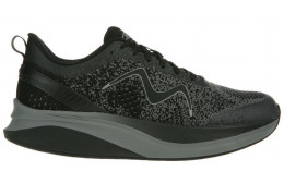MBT HURACAN 3000 LACE UP MAN SHOES BLACK_CASTLEROCK